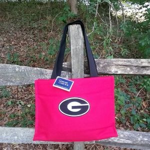 Georgia Bulldog Canvas Bag